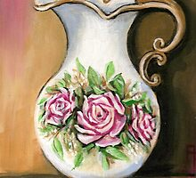 Flower Pitcher by Pamela Plante