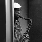 Street Sax by Chet  King