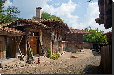 Village Blue Mountains Bulgaria by DonDavisUK