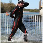 Kingscliff Triathlon 2011 Swin leg P482 by Gavin Lardner