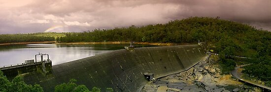 Collie Dam - Western Australia  by EOS20