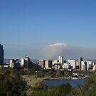 Smoky Skyline by shazart