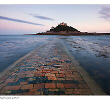 St .Michael's Mount - Cornwall by Douglas  Latham
