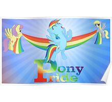 Pony Pride Poster Poster