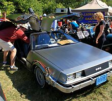 Delorean DMC-12 Back to the Future Replica by Jordan Hewlett