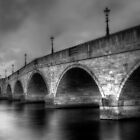 Chertsey Bridge by Louise Maton