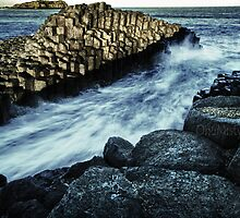 Giant's Causeway Fingal Heads by onemistymoo