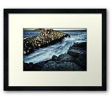 Giant's Causeway Fingal Heads Framed Print