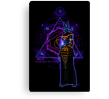 ☼ ☥ Anput, Guardian of Lore ☥ ☾ Canvas Print