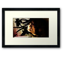Midnight Geisha Framed Print
