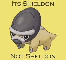 Shieldon Not Sheldon by takandre