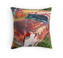 Old car - Cadillac Throw Pillow