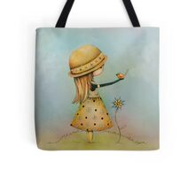 summer days are golden Tote Bag
