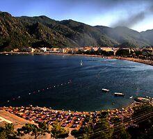 Icmeler Panorama by Murat A CICEK