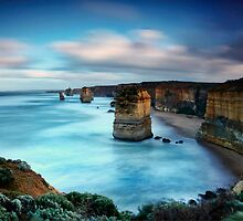 Majestic 12 Apostles  by Maxwell Campbell