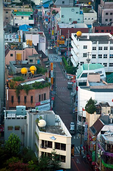 A Street in Daegu by Anthony M. Davis