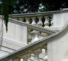 Steps at Winterthur by Anthony M. Davis