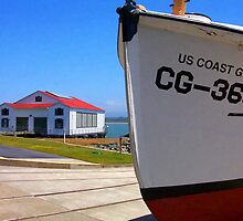 Coast Guard Station by Anthony M. Davis