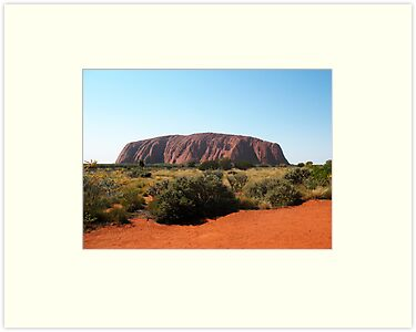 Uluru, Northern Territory by Michael Vickery
