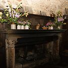 Montsalvat hearth in Great Hall by BronReid