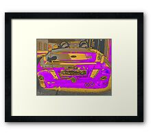 Ford Street Ka Convertible 1.6 Lux Framed Print