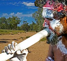Play Your Didgeridoo Blue by TonyCrehan