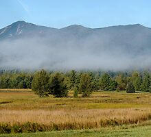 Morning Mist - Whiteface Mountain - GigaPan by Stephen Beattie