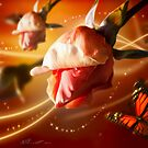 Rose and Butterfly by Svetlana Sewell