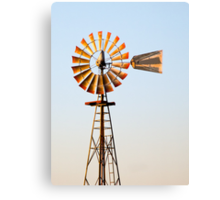 Classic Midwester American Windmill Canvas Print