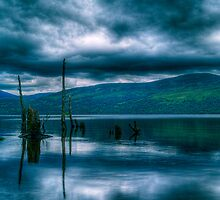 Loch Rannoch Reflections by Aj Finan