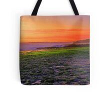 North Beach At Sunset  Tote Bag