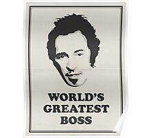 World's Greatest Boss Poster