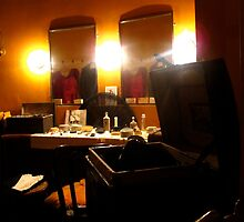 The Hoofer's Dressing Room by MarianBendeth
