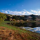 Stafford Lake  •  Sunrise  •  Novato, California by Richard  Leon