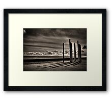 Pillars of the forth Framed Print