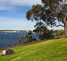 Corio Bay at Geelong by Darren Stones