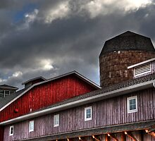Indiana Barn by Matt Erickson