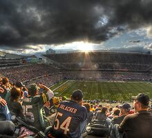 Bears vs. Packers: Rivalry in the Stands by Matt Erickson