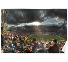 Bears vs. Packers: Rivalry in the Stands Poster