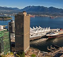 Canada. Vancouver, BC. Looking at Canada Place. by vadim19