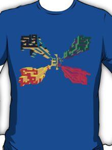 3D geometrics T-Shirt