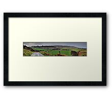 Panorama of Donegal Ireland Framed Print