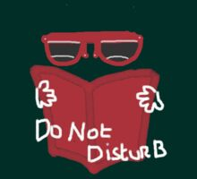 DO NOT DISTURB  TEE SHIRT/BABY GROW by Shoshonan