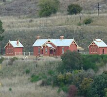 Carcoar Railway Station 1888 by DashTravels