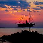 Ghost Ship by Ellanita