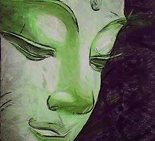 Buddha Face by nikkiidaniels