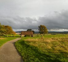 Culloden At Sunset by Vicki Spindler (VHS Photography)