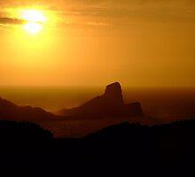 Rhossili Sunset by magickgardener