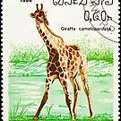 Giraffe stamp. by FER737NG