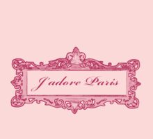 j'adore Paris en rose (pink version) by faithie